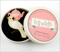 Erstwilder Birds Brooch Pin Carnaboo the Cockatoo Box