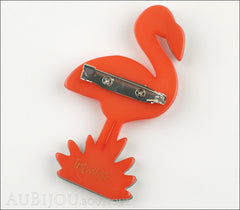 Erstwilder Bird Brooch Pin Flamboyant Flamingo Funk Back