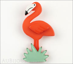 Erstwilder Bird Brooch Pin Flamboyant Flamingo Funk Front
