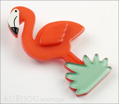 Erstwilder Bird Brooch Pin Flamboyant Flamingo Funk Side