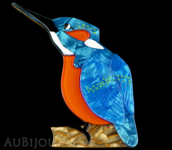 Erstwilder Bird Pin Brooch Karmen Kingfisher Gallery