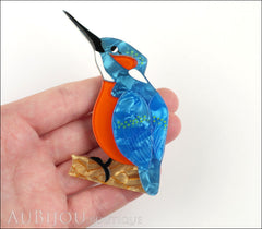 Erstwilder Bird Pin Brooch Karmen Kingfisher Model