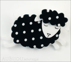 Erstwilder Brooch Pin Bellamy the Black Sheep Front