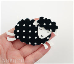 Erstwilder Brooch Pin Bellamy the Black Sheep Model