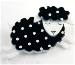 Erstwilder Brooch Pin Bellamy the Black Sheep Side