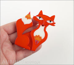 Erstwilder Brooch Pin Paloma Prairie Fox Model