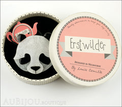 Erstwilder Brooch Pin Pepita the Polite Panda Box