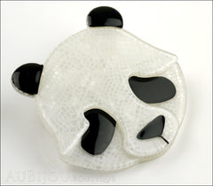 Erstwilder Brooch Pin Pepita the Polite Panda Side