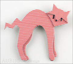 Erstwilder Cat Pin Brooch Breton Kitty Front