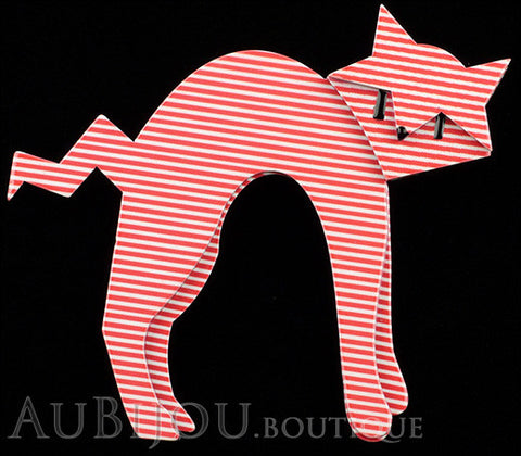 Erstwilder Cat Pin Brooch Breton Kitty Gallery