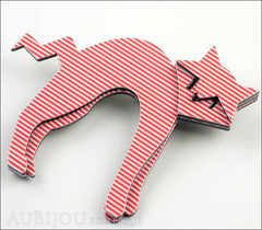 Erstwilder Cat Pin Brooch Breton Kitty Side
