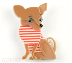 Erstwilder Dog Brooch Pin Chi Chi Chihuahua Front