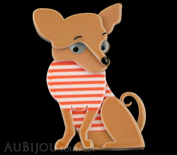 Erstwilder Dog Brooch Pin Chi Chi Chihuahua Gallery