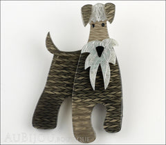 Erstwilder Dog Brooch Pin The Schnauzer and Klaus Front
