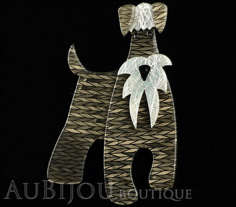 Erstwilder Dog Brooch Pin The Schnauzer and Klaus Gallery