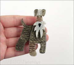 Erstwilder Dog Brooch Pin The Schnauzer and Klaus Model