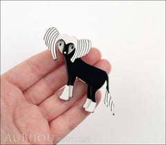 Erstwilder Dog Pin Brooch Chad the Chinese Crested Model