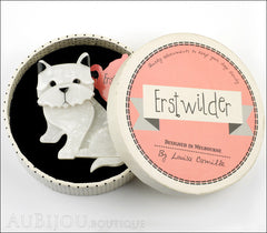 Erstwilder Dog Pin Brooch Winston the Westie Box