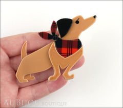 Erstwilder Dutch Hound Dog Pin Brooch Bitsa Bob Model