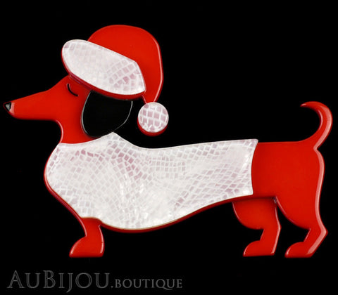 Erstwilder Dutch Hound Dog Pin Brooch Christmas Spiffy Gallery