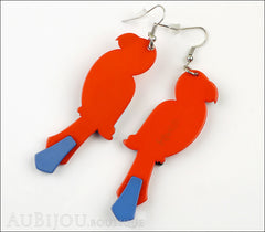 Erstwilder Earrings Pancha's Parrots Red Back