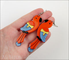 Erstwilder Earrings Pancha's Parrots Red Model