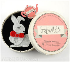 Erstwilder Pin Brooch Bouncing Bianca Bunny Rabbit Box