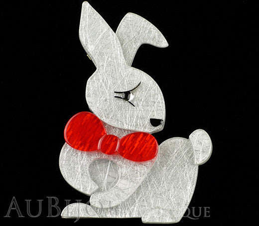 Erstwilder Pin Brooch Bouncing Bianca Bunny Rabbit Gallery