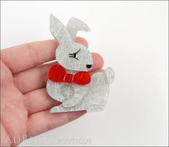 Erstwilder Pin Brooch Bouncing Bianca Bunny Rabbit Model