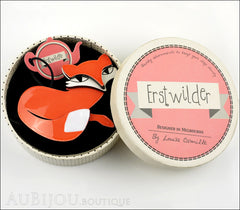 Erstwilder Pin Brooch Fletcher the Fetching Fox Box