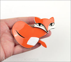 Erstwilder Pin Brooch Fletcher the Fetching Fox Model