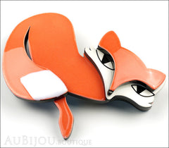 Erstwilder Pin Brooch Fletcher the Fetching Fox Side