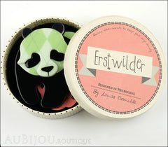 Erstwilder Pin Brooch Pepe the Pondering Panda Box