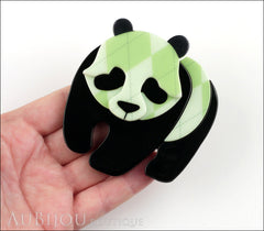 Erstwilder Pin Brooch Pepe the Pondering Panda Model