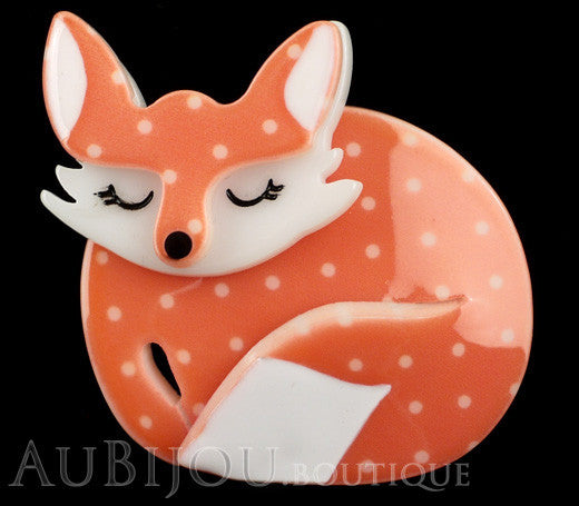 Erstwilder Pin Brooch Sacha Sleeping Fox Gallery
