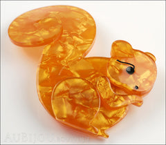 Erstwilder Pin Brooch Saskia Squirrel Side