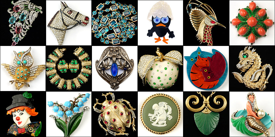 Vintage and Collectible  Jewelry Gallery
