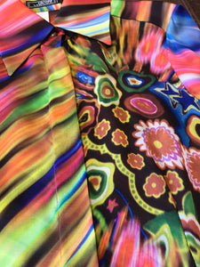 GIANNI VERSACE Colourful Silk Shirt