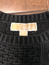 Load image into Gallery viewer, MICHAEL MICHAEL KORS Distressed Cotton Cable Knit Sweater