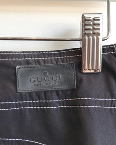 GUCCI Techno Straight Leg Pants