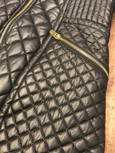 Load image into Gallery viewer, VIA SPIGA Quilted Zipper Up Jacket