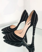 Load image into Gallery viewer, GIORGIO ARMANI Suede High Heel Pumps