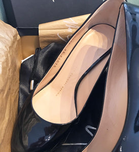 GIUSEPPE ZANOTTI Patent Leather High Heel Pumps