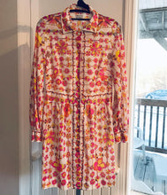Load image into Gallery viewer, EMILIO PUCCI Vintage for Formfit Rogers Floral Print Blouse Dress