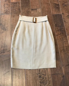 GIORGIO ARMANI Wool Pencil Skirt
