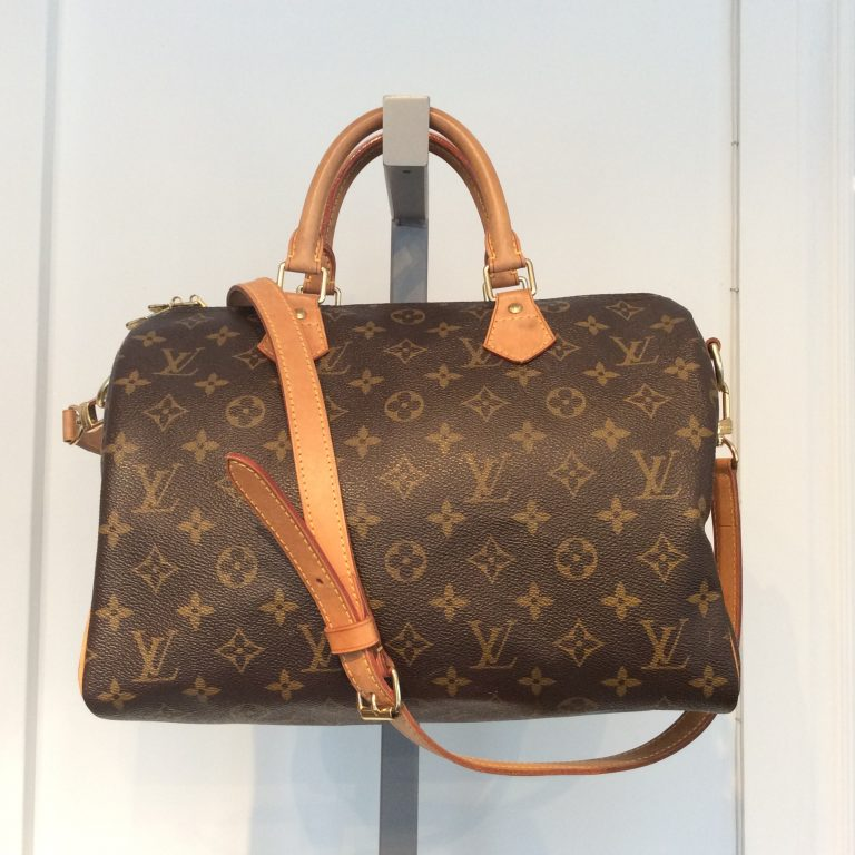 LOUIS VUITTON Monogram Canvas Bandouliere Speedy 30 Bag