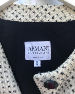 ARMANI COLLEIZONI Tweed Jacket