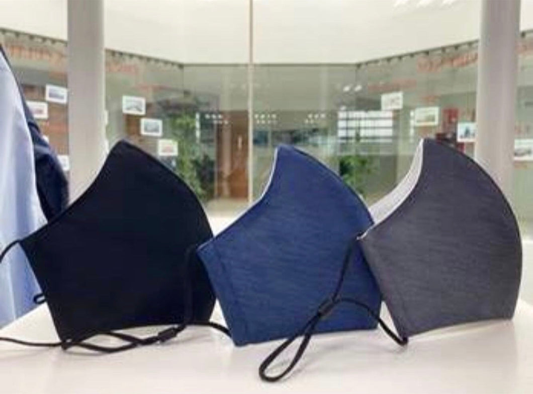 HIGH QUALITY COMFY TRIPLE-LAYER CLOTH FACE MASK