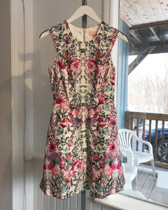 TED BAKER Floral Print S'less Dress