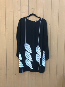DIANE VON FURSTENBERG Long Sleeve Silk Dress